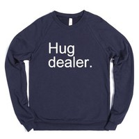 Hug dealer-Unisex Navy Sweatshirt