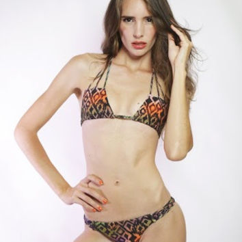Stone Fox Swim Loki Tribal Bikini