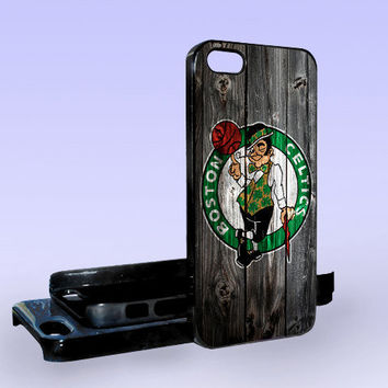 Boston Celtics NBA Team Logo - Print on Hard Cover - iPhone 5 Case - iPhone 4/4s Case - Samsung Galaxy S3 case - Samsung Galaxy S4 case
