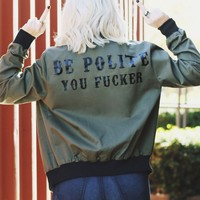 GYPSY WARRIOR X REBEL SOUL COLLECTIVE BOMBER JACKET
