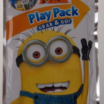Set 6 Despicable Me 2 Play Pack Grab & Go Coloring Book Crayons Stickers Favors