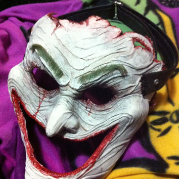 Cosplay Skinned Joker Face Mask. From the DC Comics Death of the Family. Not Arkham City New 52