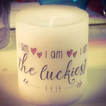 The Luckiest Candle
