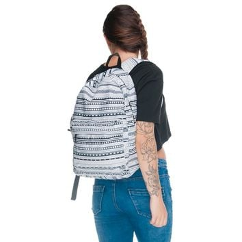 Vintage Aztec Black & White Backpack