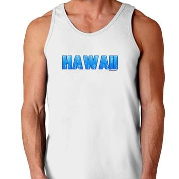 Hawaii Ocean Bubbles Loose Tank Top  by TooLoud