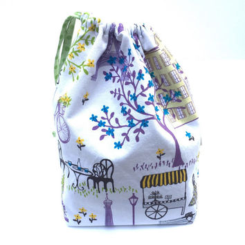Paris Toddler Bag - Toddler Tote Bag - Girls Library Bag - Girls Purse - Kids Tote Bag