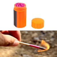 Windproof Waterproof Camping Fire Matches Emergency Tool Survival
