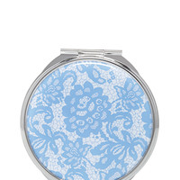 Floral Lace Compact Mirror