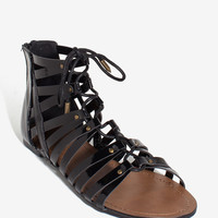 Gulliver Gladiator Girl Lace Up Sandal