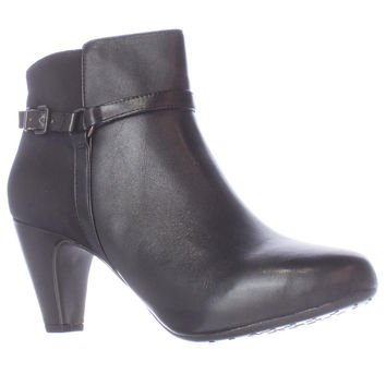 Easy Spirit Pedrina Dress Ankle Boots - Black Combo