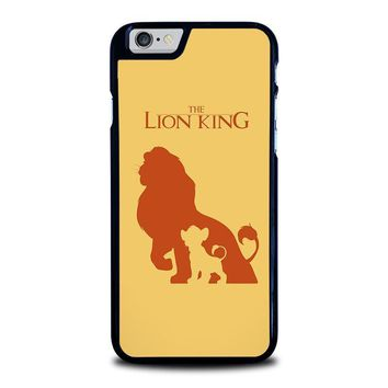 the lion king simba disney iphone 6 6s case cover  number 1