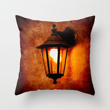 The Age Of Electricity Throw Pillow by Digital2real