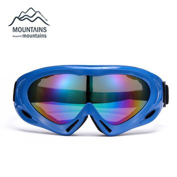 Snow Snowboard Ski Windproof Dustproof Goggles Motorcycle Bike Cycling Safe Helmet Goggles Skiing Glasses Eyewear Sunglasses