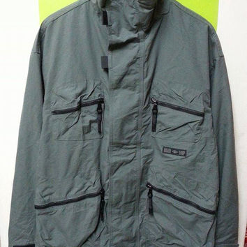 Vintage 90s KILLER LOOP Outdoor Hunting Hiking Fishing Coat Jacket