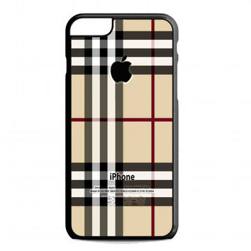 Burberry, Patterns Apple For iphone 6 plus case