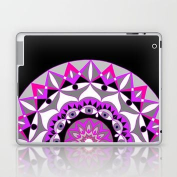 My Love Mandhala | Secret Geometry | Energy Symbols Laptop & iPad Skin by Azima