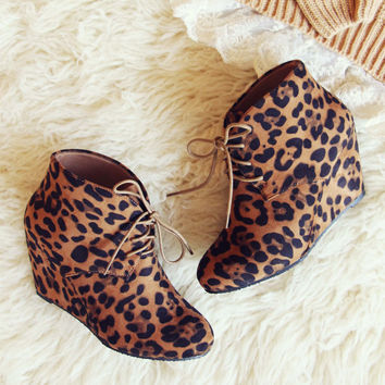 Wild Shadows Booties