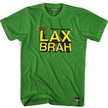 LAX Brah Tribe Head Lacrosse T-shirt