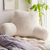 Shearling Boo Pillow