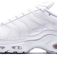 BC QIYIF Nike Air Max TN Leather Triple White
