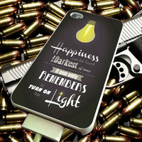 Harry Potter Happiness Quote for iPhone, iPod, Samsung Galaxy, HTC One, Nexus ***