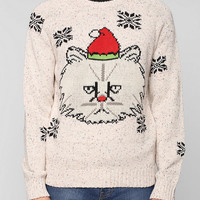 Character Hero Cat Sweater  - Urban Outfitters