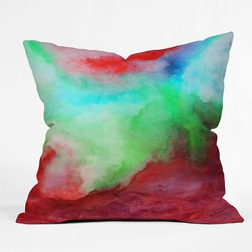 Jacqueline Maldonado The Red Sea Throw Pillow