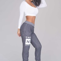 Crooks & Castles Smoke Sweatpants - Charcoal - Bottoms - Clothing