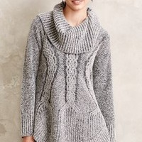 Cabled Boucle Pullover by Angel of the North