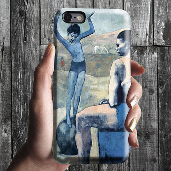 Acrobat on a Ball - Pablo Picasso iPhone Case 6/6S, 6 Plus, 4S,5S. Mobile Phone Cell. Art Painting. Gift Idea. Anniversary. Gift for him/her