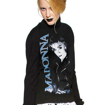 Madonna Papa Don't Preach Turtleneck Sweater