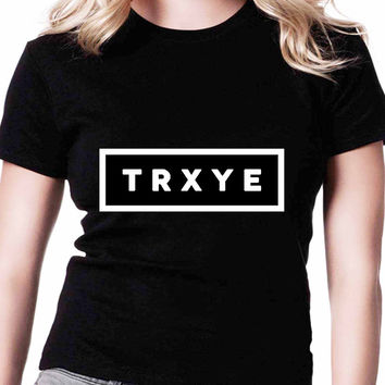 Trxye Tyler Oakley Troye Sivan TV Womens T Shirts Black And White