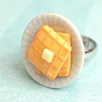 Breakfast Waffles Ring