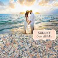 SUNRISE Wedding Confetti - Chic Wedding Decoration, Scatters, Confetti, Bulk Confetti, Beach Wedding, Sunrise Wedding, Vintage Wedding