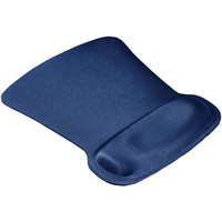 ALLSOP 30193 Ergoprene Gel Mouse Pad with Wrist Rest (Blue)