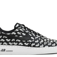 "Air Force 1 '07 QS ""air Emblazoned"" - Nike - Ah8462 001 - black/black-white 