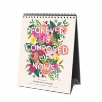 2019 Inspirational Quote Desk Calendar