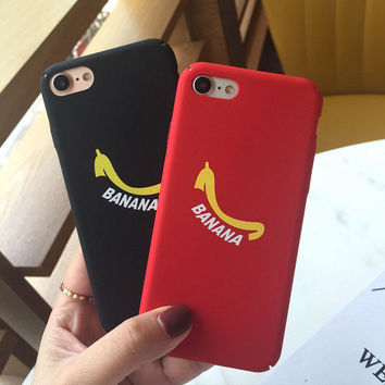 Original Banana Case for iPhone 7 7Plus & iPhone 6 6 Plus High Quality Cover-0322