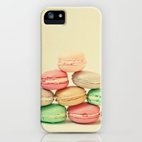 French Macarons iPhone Case by Cassia Beck | Society6