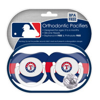 2-Pack Pacifiers - Texas Rangers