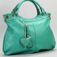 Teal Oversized Handbag