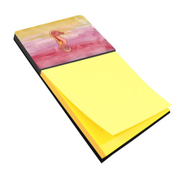 Seahorse Watercolor Sticky Note Holder BB7425SN