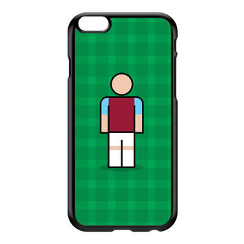 West Ham Black Hard Plastic Case for iPhone 6 Plus by Blunt Football