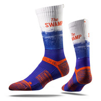 Strideline® 2.0 University of Florida, The Swamp, Gators Crew Socks NEW