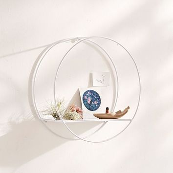 Circle Metal Shelf | Urban Outfitters