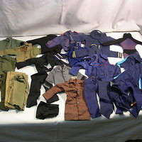 Vintage 1960-70s GI Joe Action Figure Clothes Uniform Hong Kong