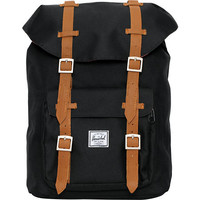 Herschel Supply Little America Mid-Volume Black Backpack at Zumiez : PDP