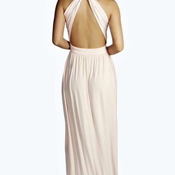 Louisa Twist Back Maxi Dress