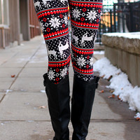 Reindeer Games Leggings
