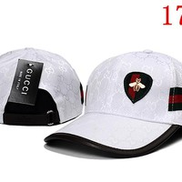 GUCCI embroidery Strap Cap Adjustable Golf Snapback Baseball Hat